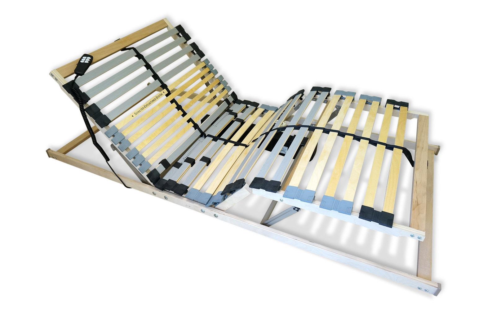 Elektryczny Stelaż Do łóżka Pod Materac 160 X 200