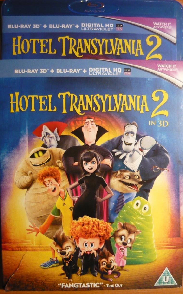HOTEL TRANSYLVANIA 2 (Blu-ray + 3D + UV) PL folia