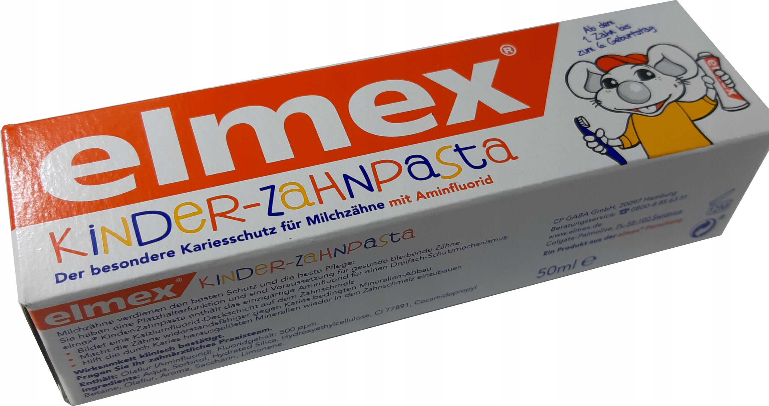 ELMEX Kids 0-6 lat pasta 50ml