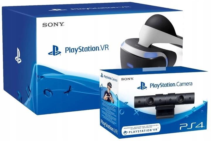 PS4 GOGLE VR +KAMERA V2