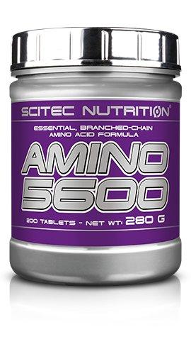 SCITEC Amino 5600 500 tab AMINOKWASY BIAŁKO DATA