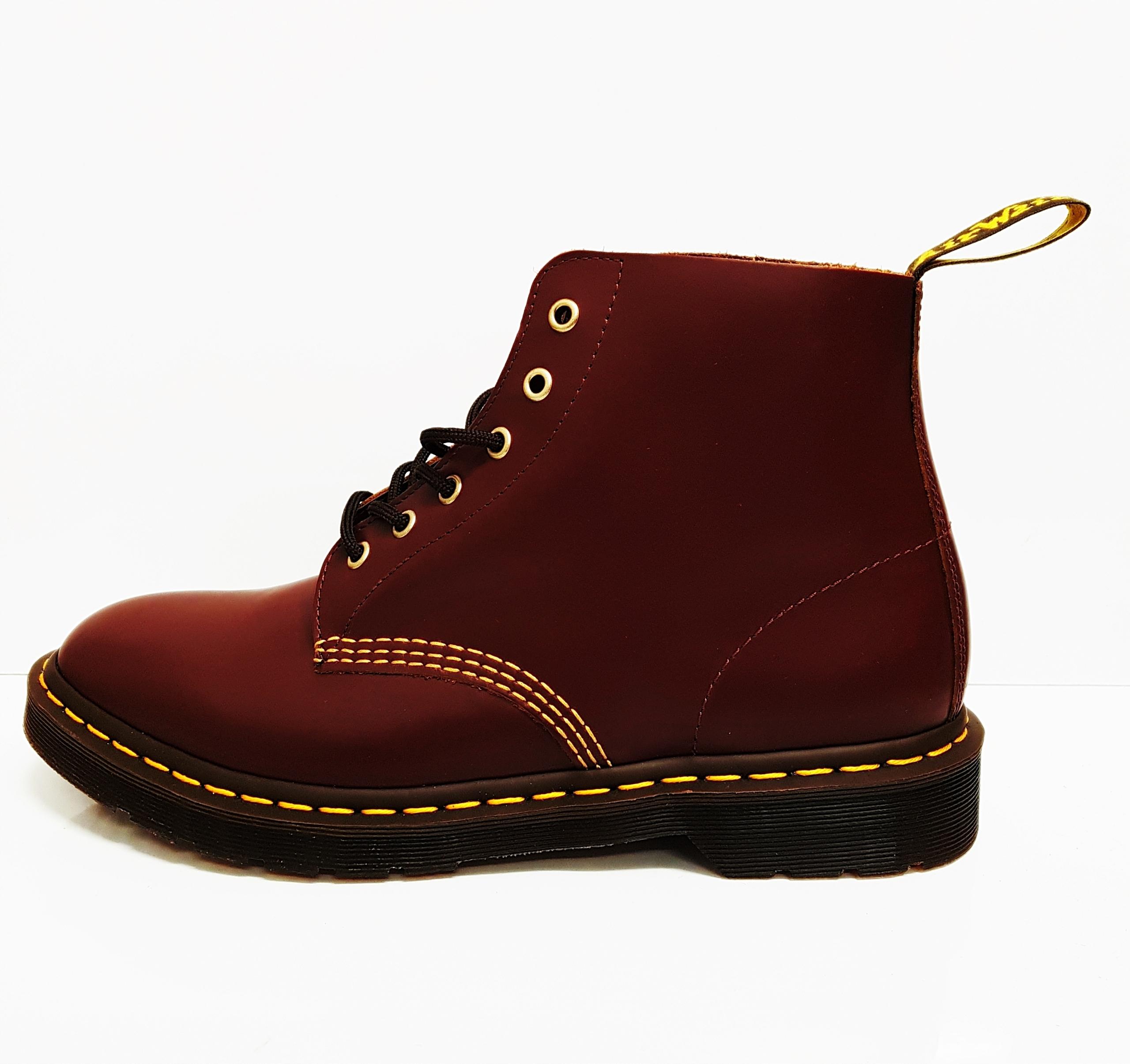 eleganckie buty na stopach o buty jesienne BUTY MĘSKIE GLANY DR. MARTENS 44 101 ARC