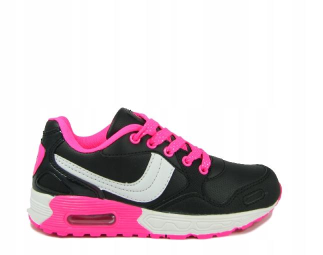buty sportowe dziecięce półbuty sznurowane 35