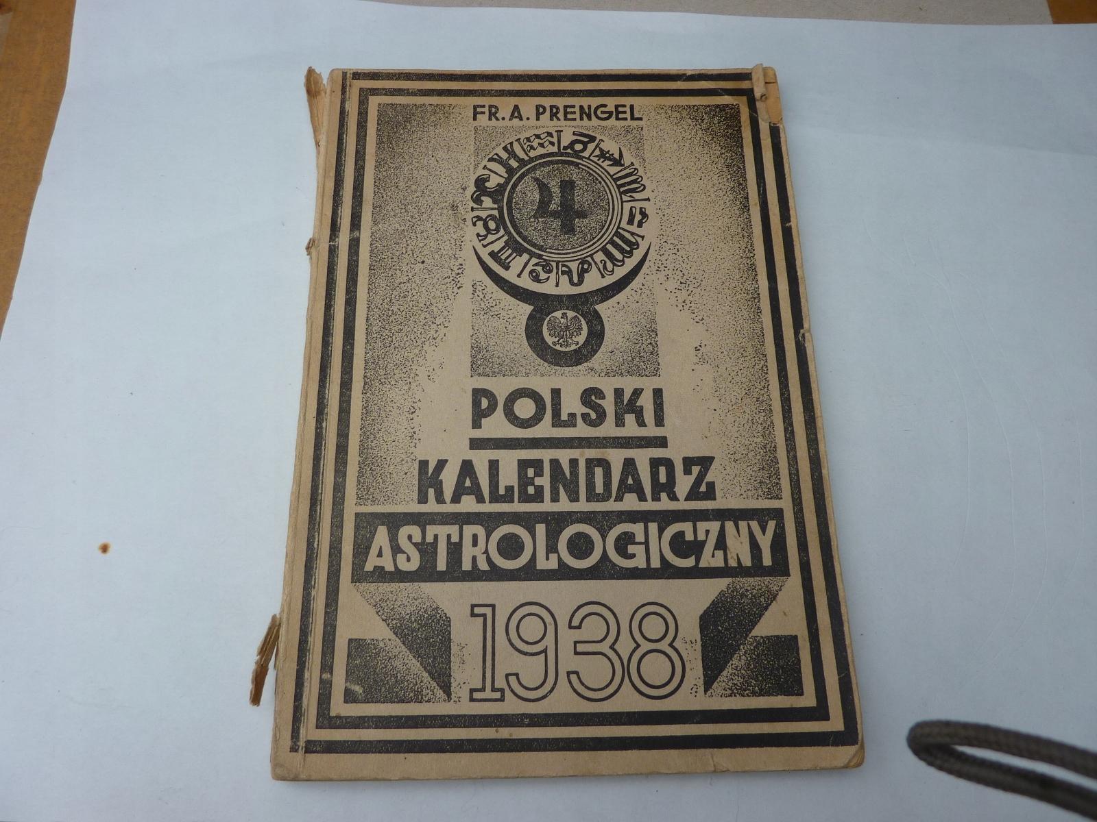 KALENDARZ ASTROLOGICZNY 1938