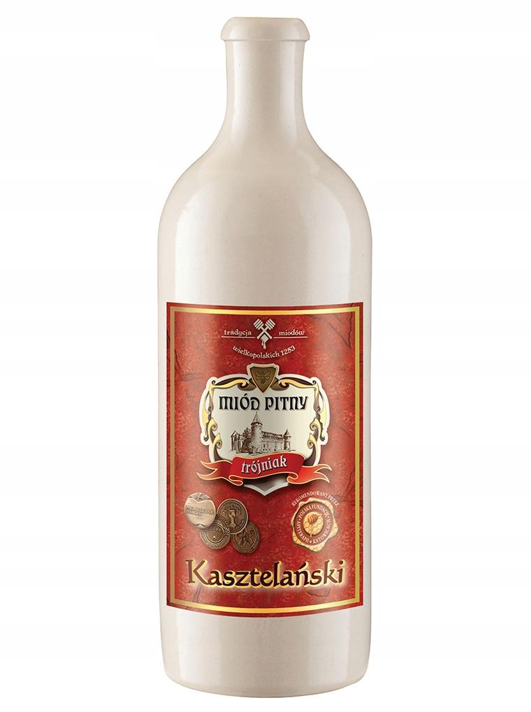 Miód pitny Trójniak Kasztelański w kamionce 750 ml