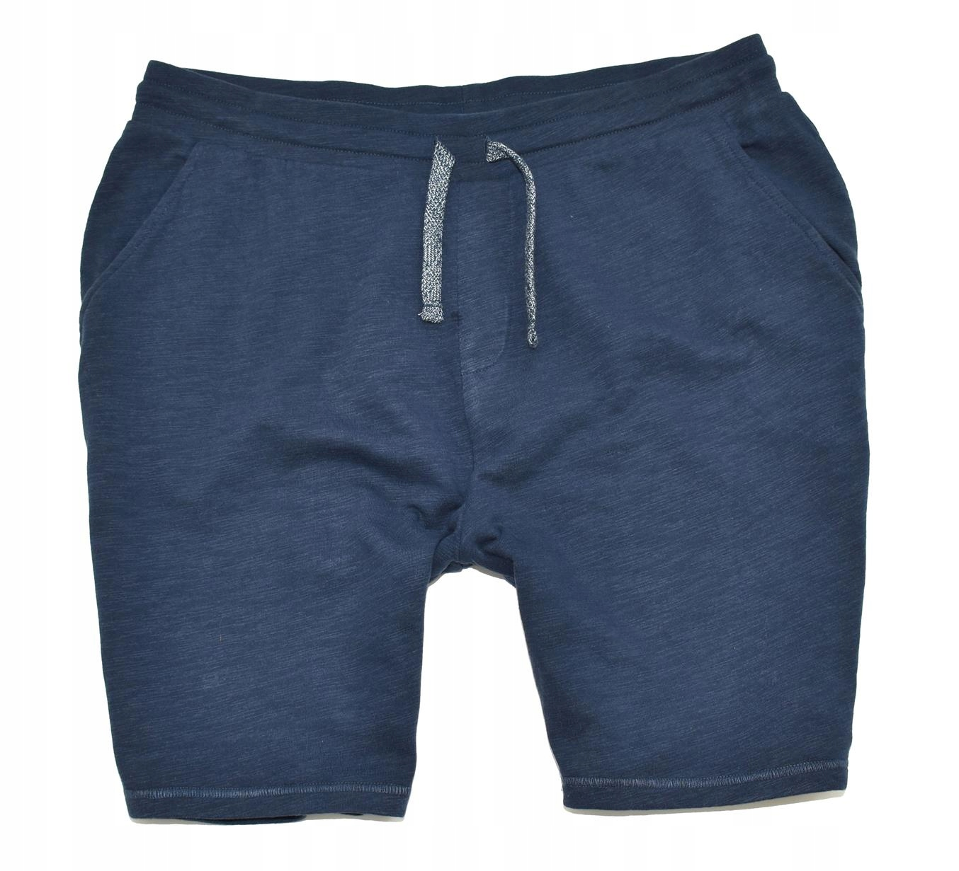 MM 135 GEORGE_ORYGINAL NAVY COTTON SHORTS_XXL