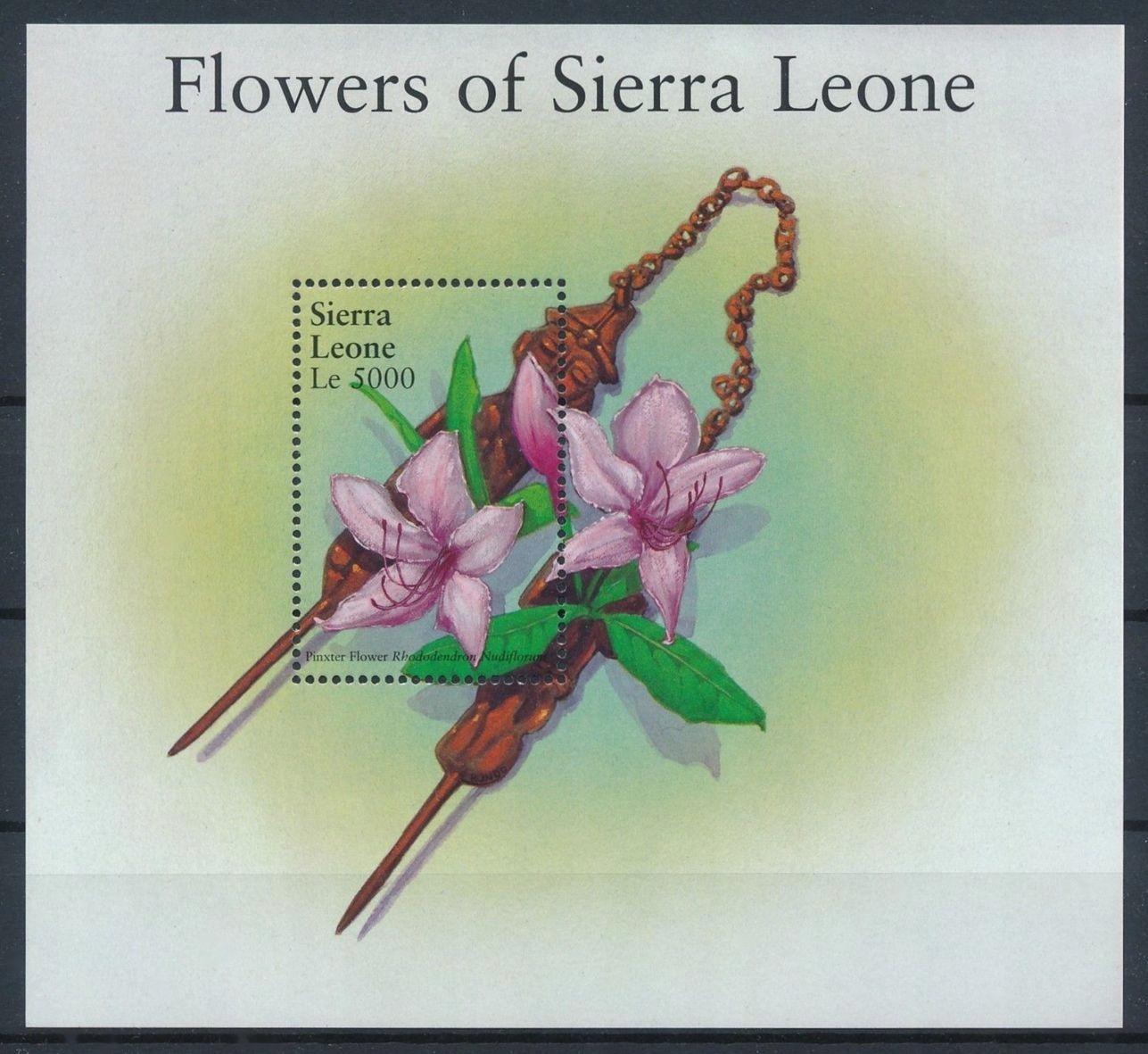 SIERRA LEONE - FLORA - 2002 r. - MNH(**)