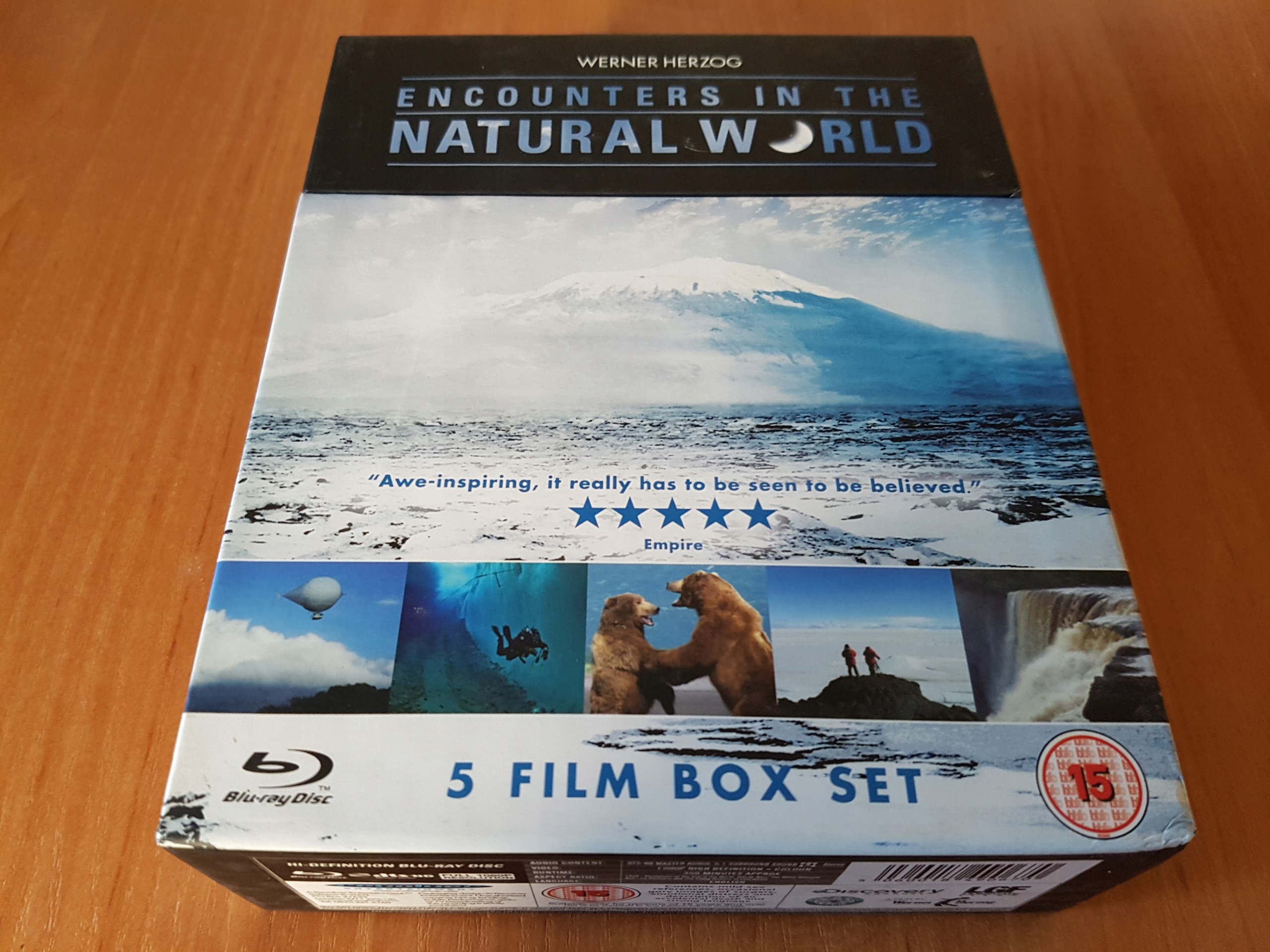 ENCOUNTERS IN THE NATURAL WORLD - 5 FILM BOX SET