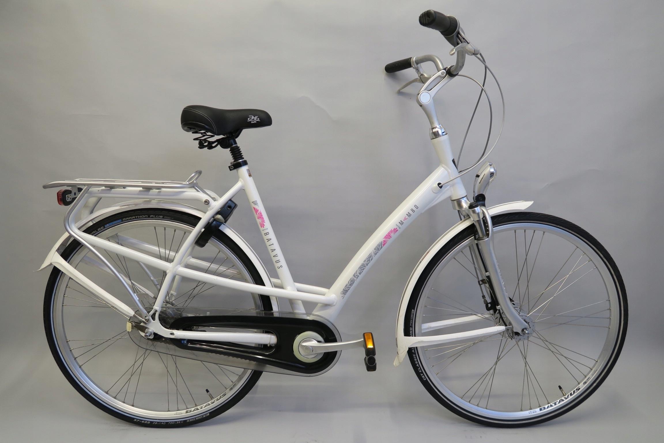 Wygodny rower holenderski Batavus Mambo Nexus 8