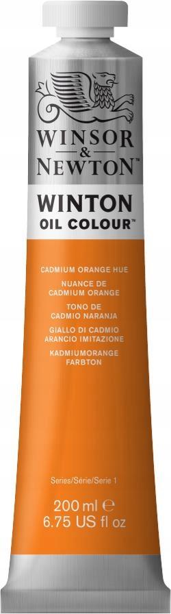 WINTON Cadmium Orange 200 ml - Farba olejna