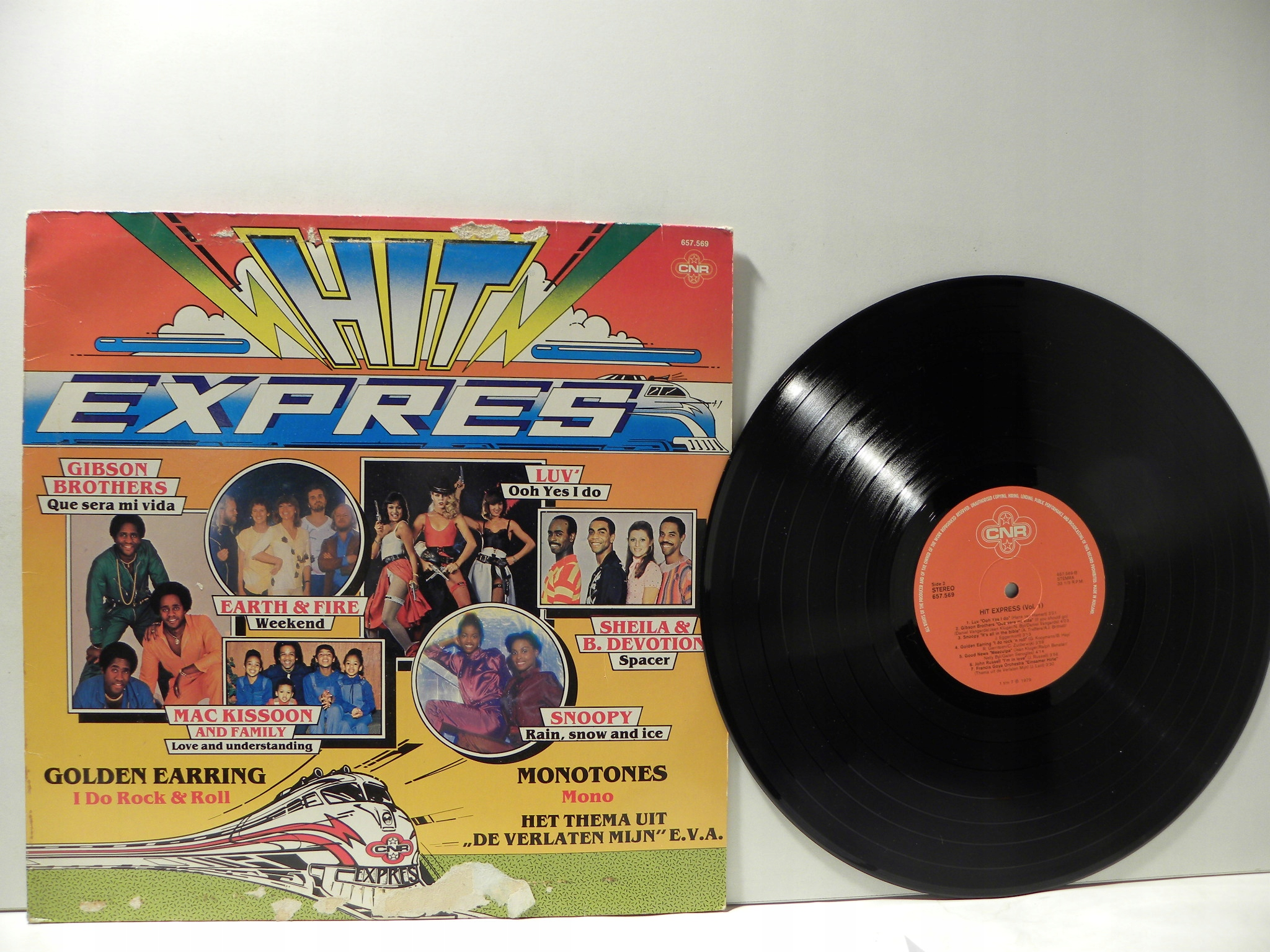 LP HIT EXPRES LUV EARTH AND FIRE FRANCIS GOYA EX