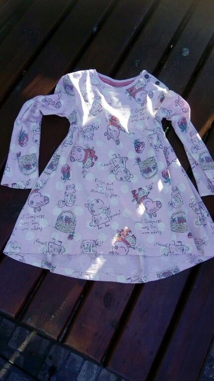 Sukienka Next Świnka peppa roz 104