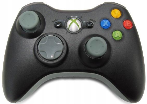 Pad Xbox 360 CZARNY Oryginalny Kontroler SKLEP AHS