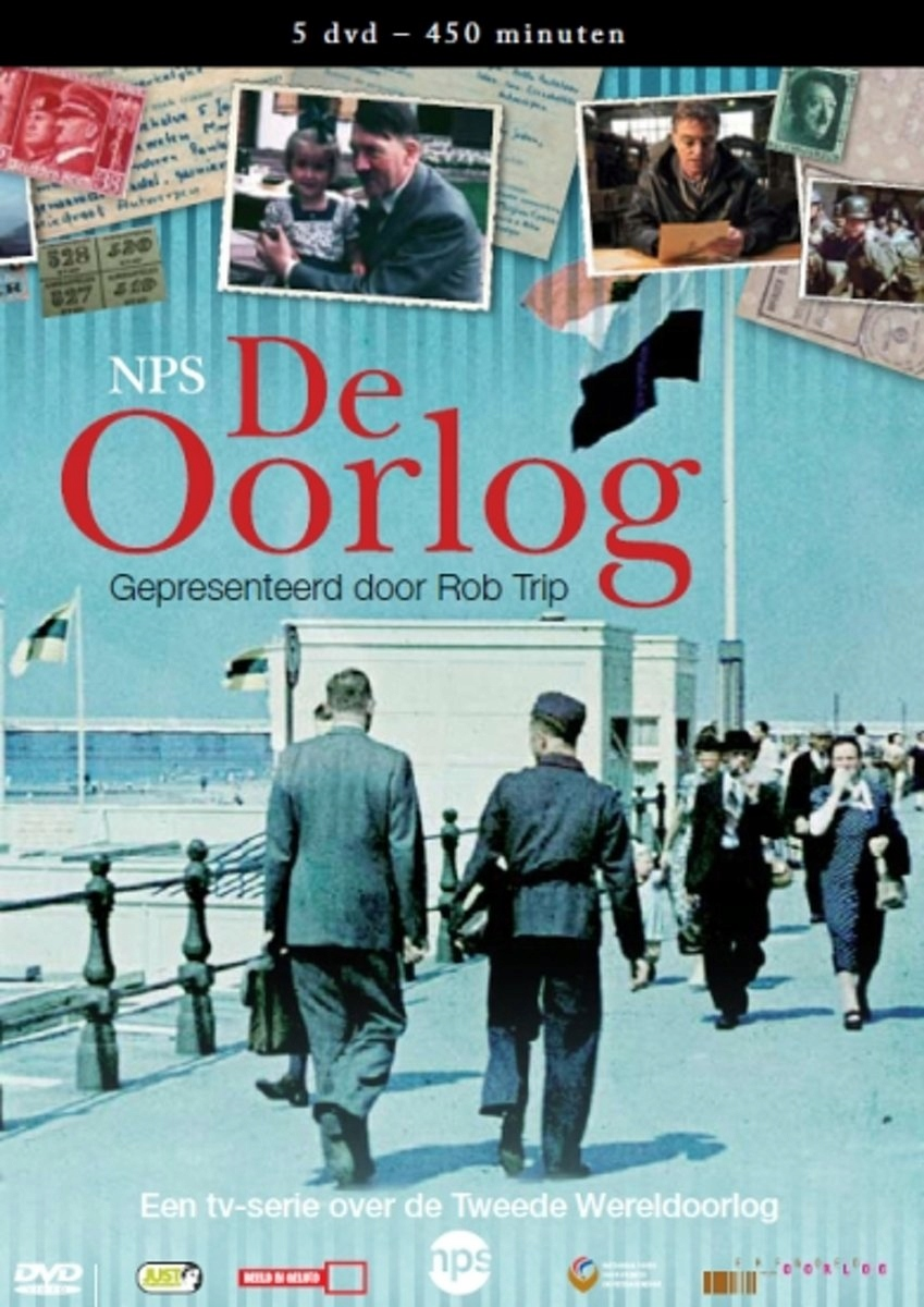 DVD Documentary - Oorlog Pal/Region 2/ Verteller: