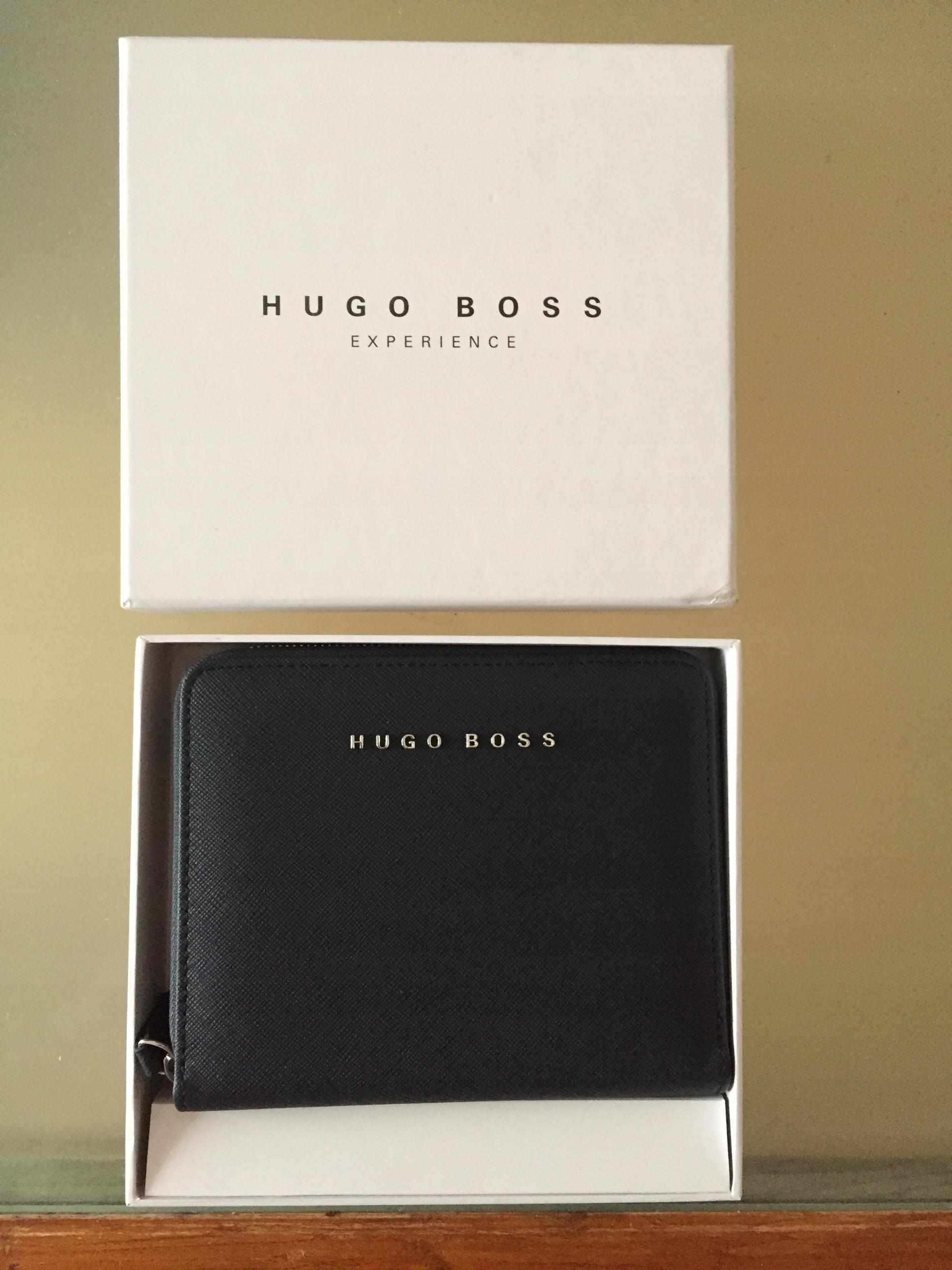 Organizer notatnik skórzany Hugo Boss elegancki !