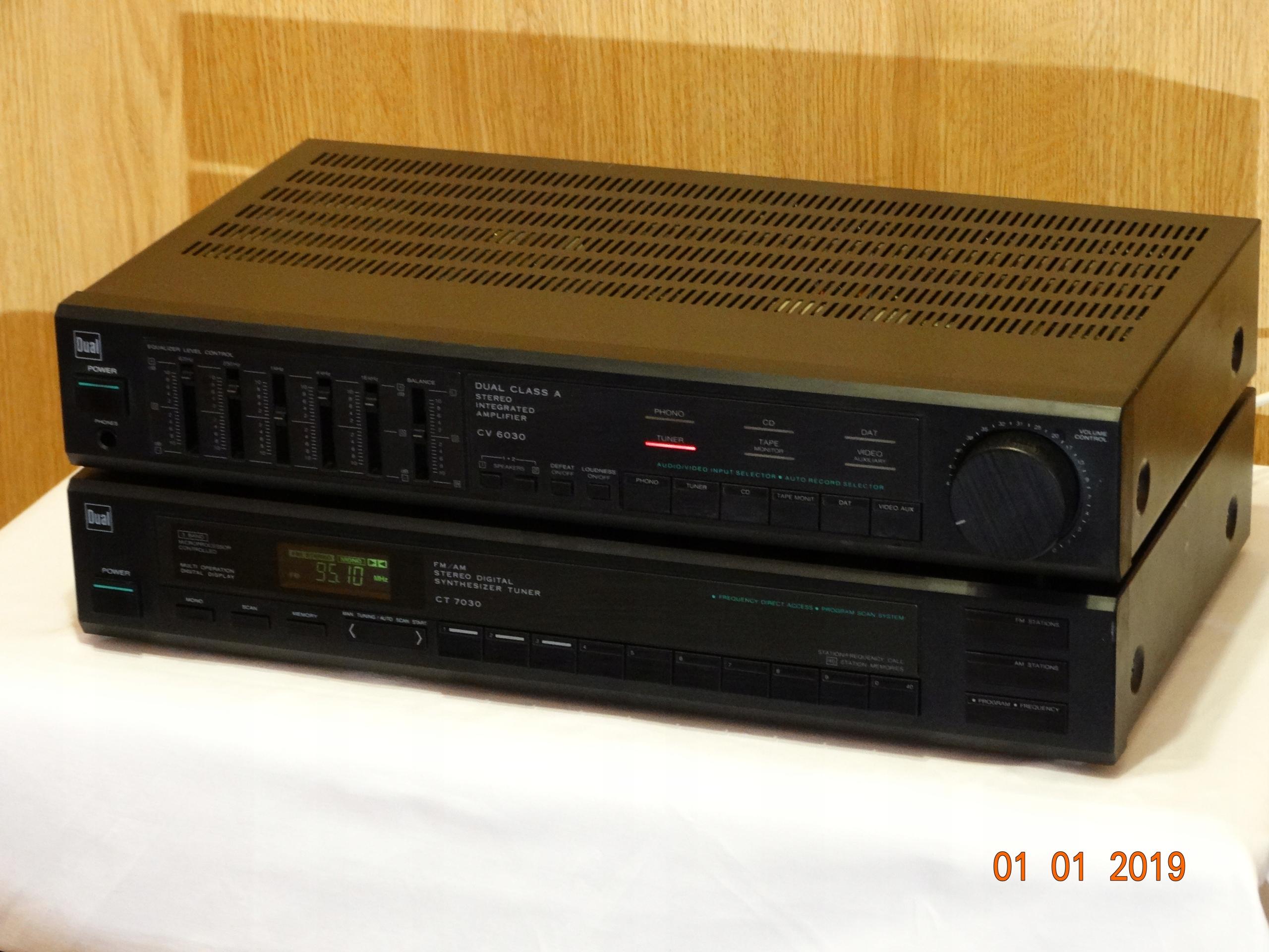 DUAL CV 6030, CT 7030 wzmacniacz + tuner FM/AM