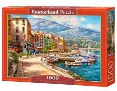 Puzzle 1500 Riviera Francuska CASTOR PREZENT _____