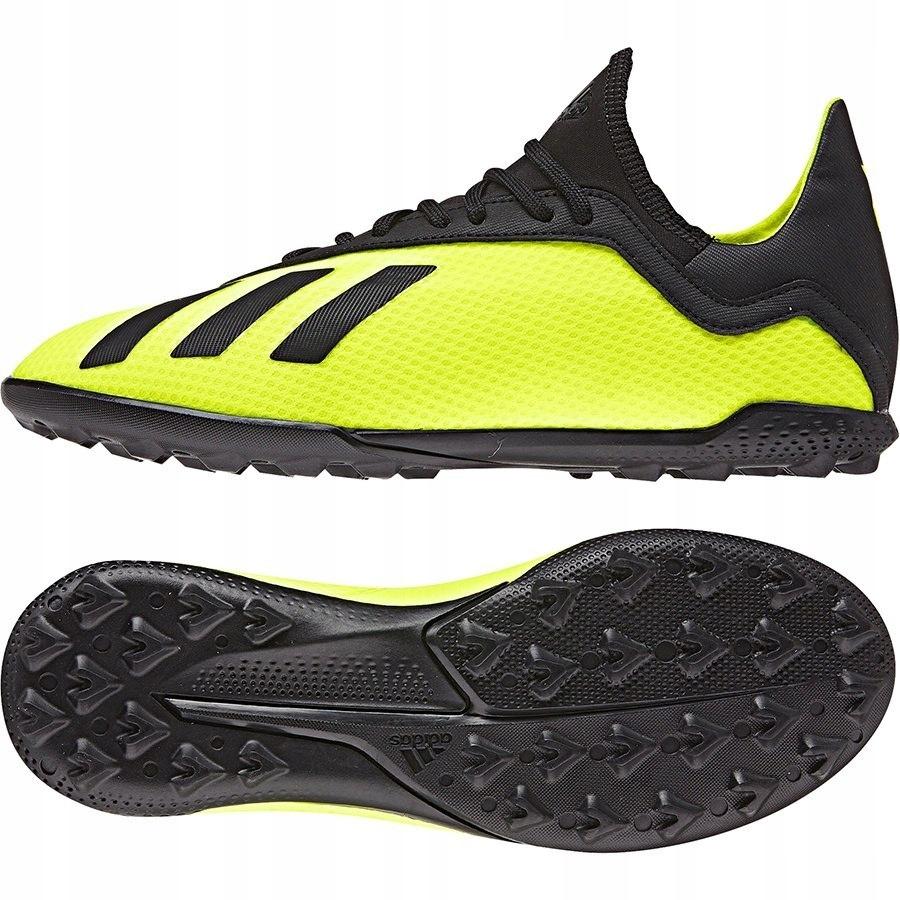 Adidas, Buty męskie, X 18.3, żółte, rozmiar 46 Adidas