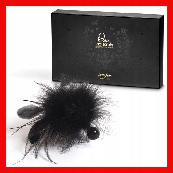 Piórko - Bijoux Indiscrets Pom Pom Feather Tickler