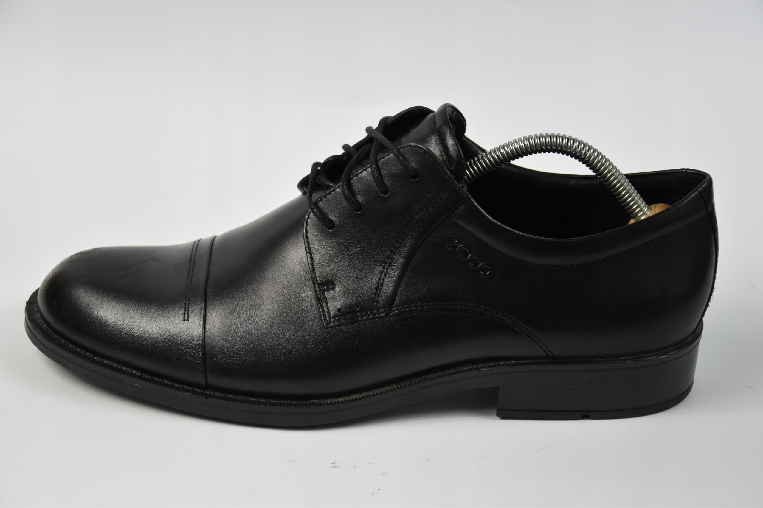 Ecco buty skórzane r.44/29cm