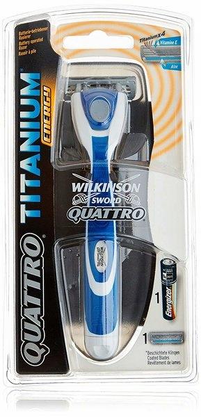 Maszynka WILKINSON Quattro TITANIUM Se + 4x Wkłady