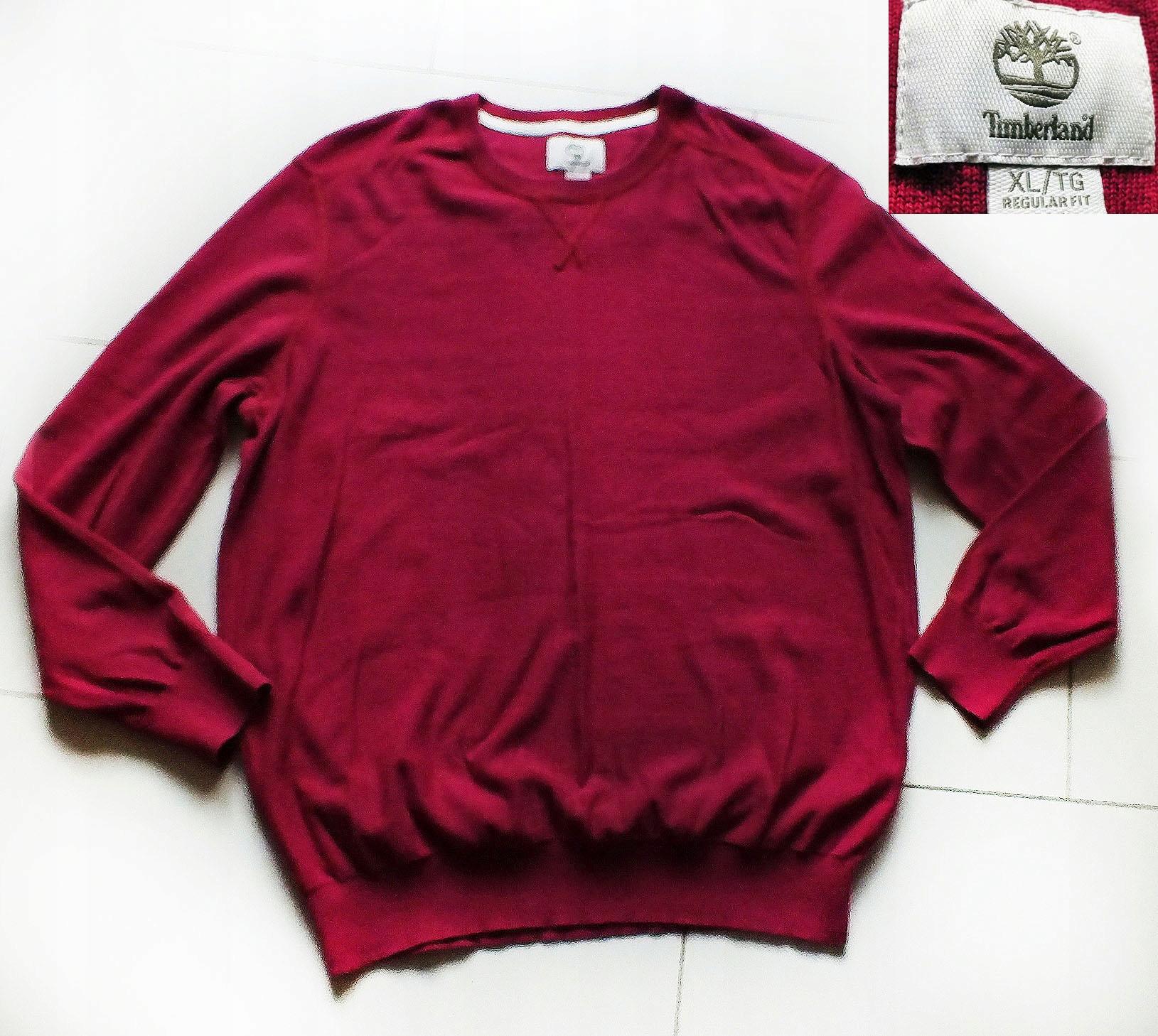 TIMBERLAND świetny sweterek bawełniany r.XL