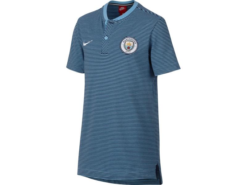 Koszulka polo NIKE MANCHESTER CITY JR 140-152