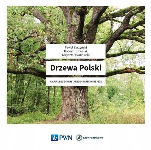 BOK1776 DRZEWA POLSKI ALBUM PWN piękne wydanie