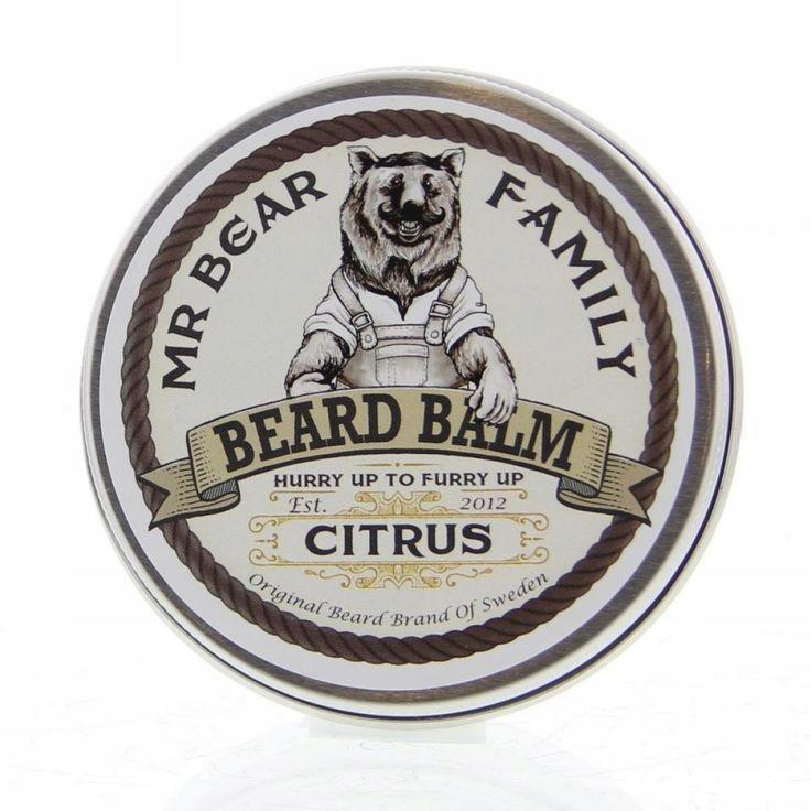 GENTLEMAN Morgan Beard Balm Citrus balsam do brody