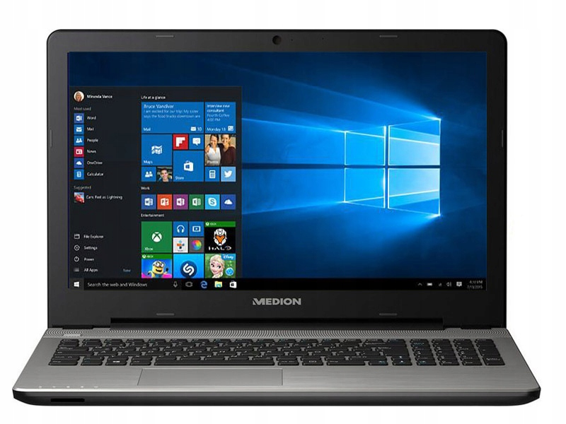Laptop Akoya E6416 i3-5010U 2x2,1GHz 4GB 500GB W10