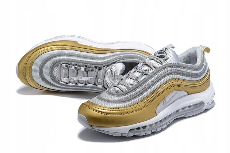 super słodki sklep dyskontowy nowe tanie Nike air max 97 Biało-Złote r.40-45 - 7909264947 - oficjalne ...