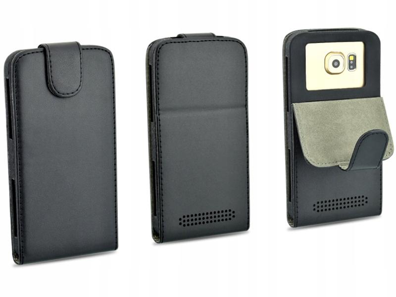 Etui czarne do telefonu Philips Xenium i908