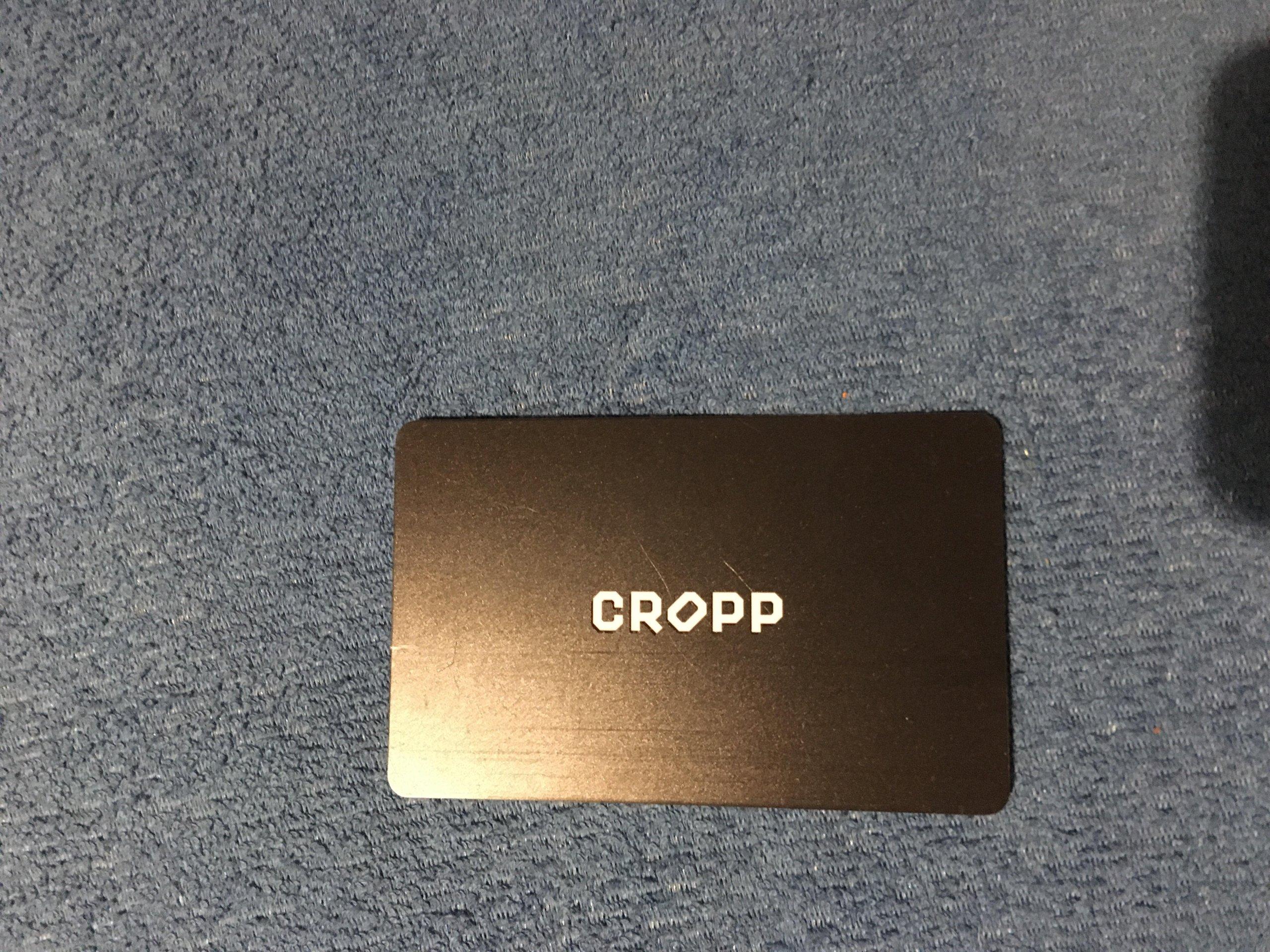 karta podarunkowa zakupowa gift card CROPP 200 zł