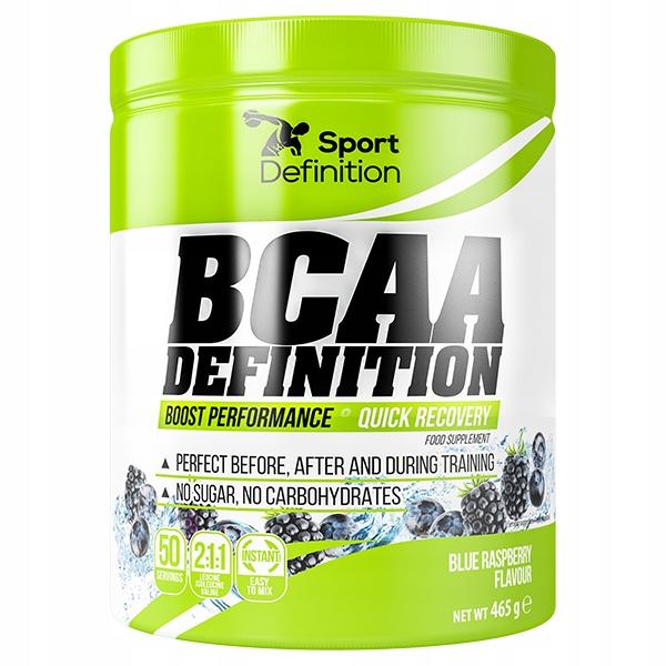 Sport Definition BCAA Def. - 465g blue raspberry