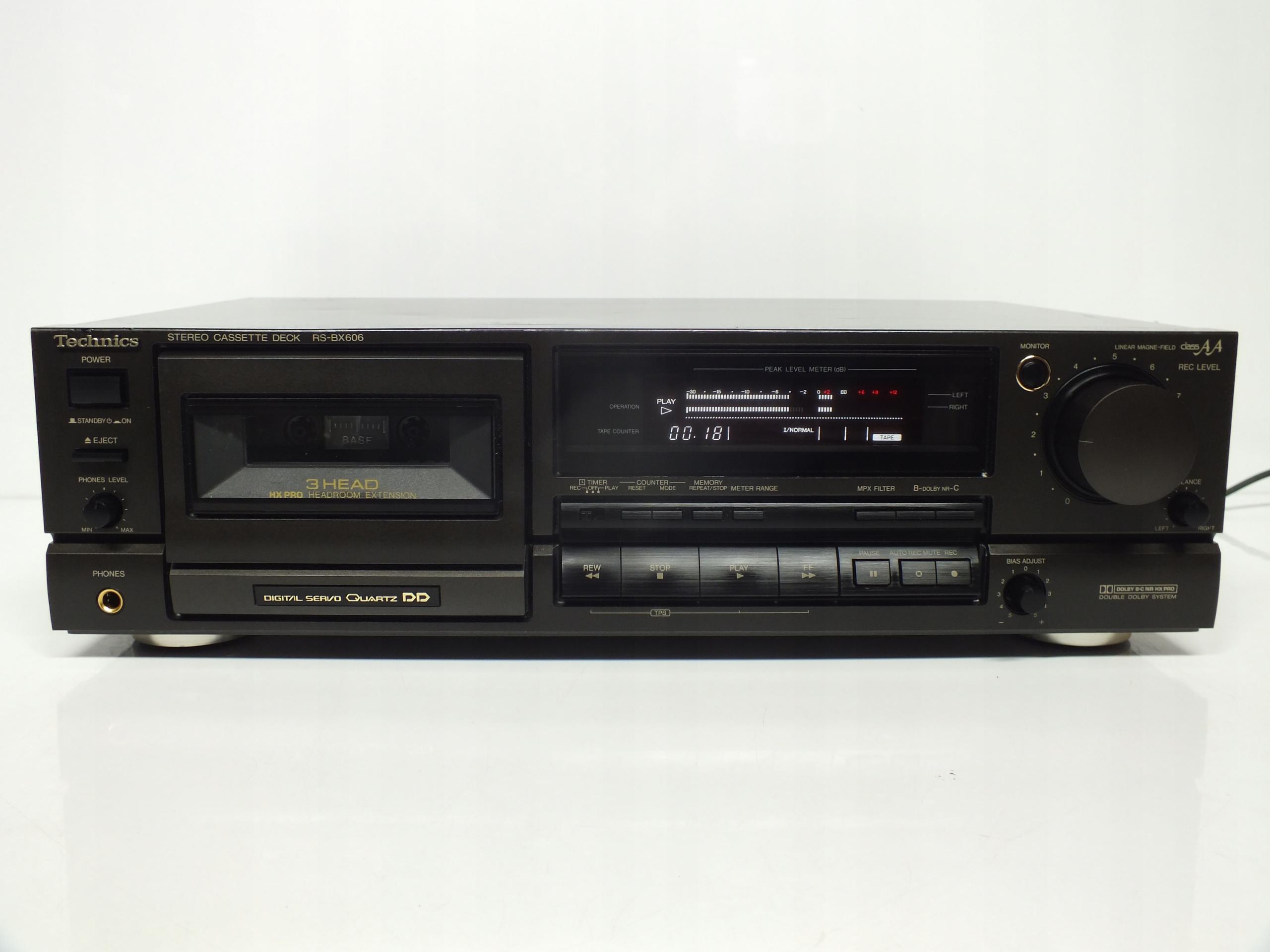 Magnetofon Technics RS-BX606 GWARANCJA Paragon