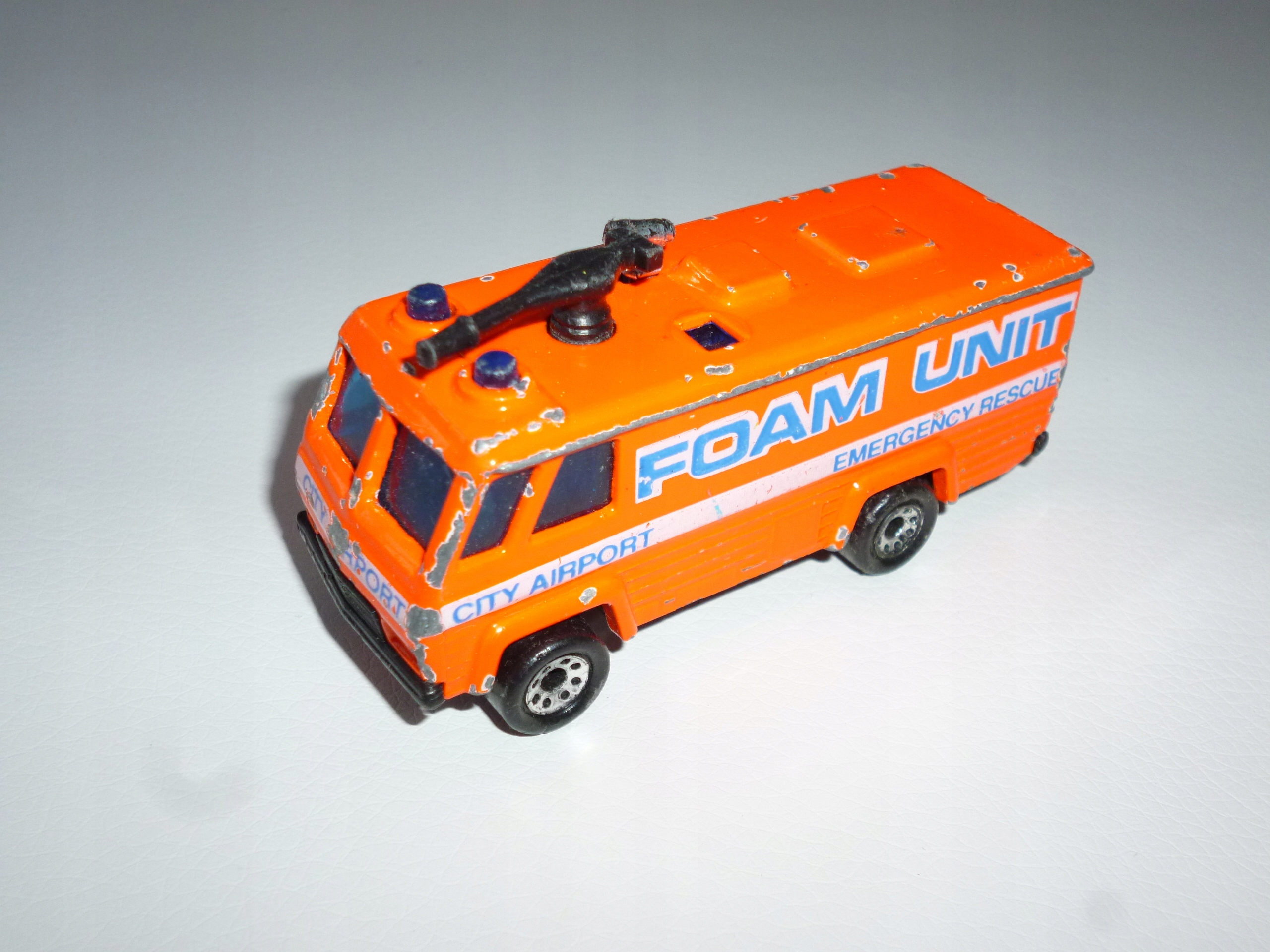 Command Vehicle 1980 Matchbox model resorak autko