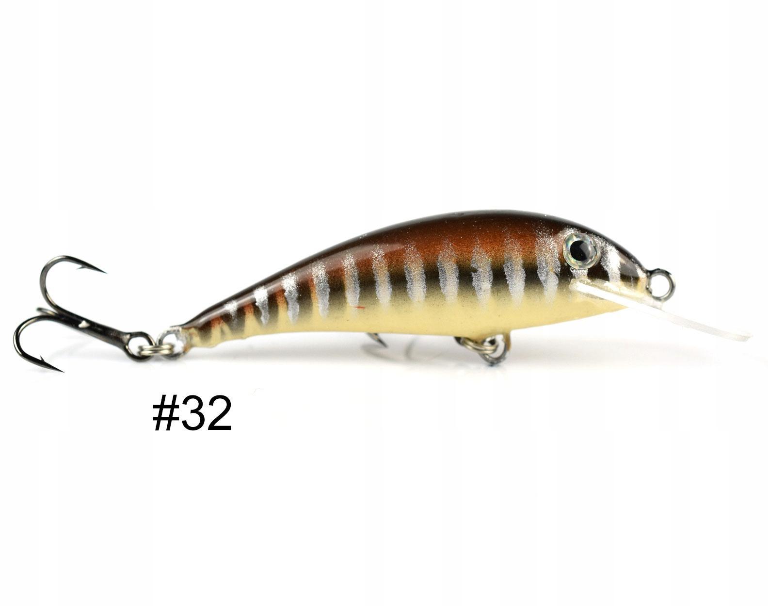 Siek Uklejka wobler pływający 5cm 2,8g kolor 32