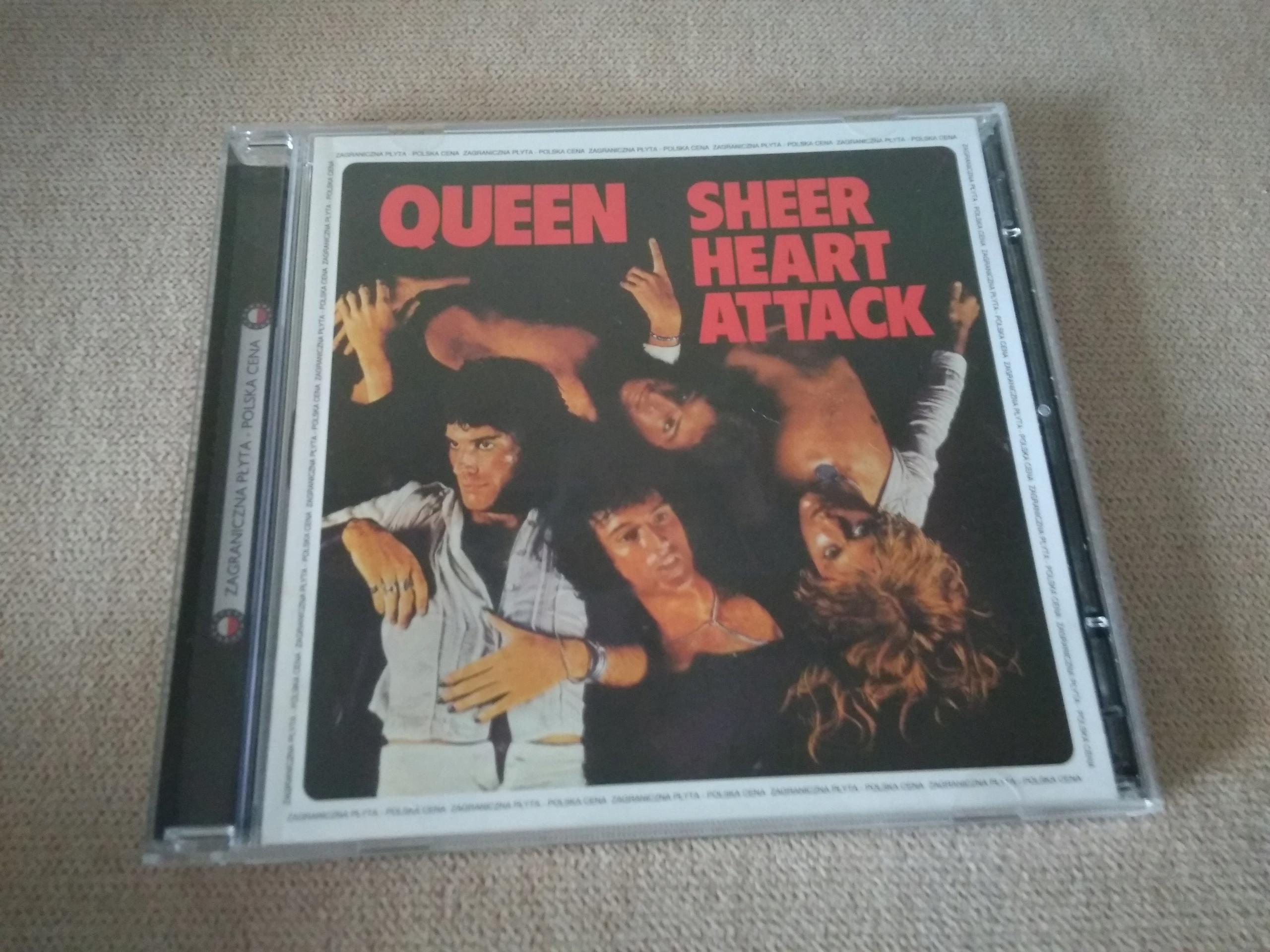 QUEEN SHEER HEART ATTACK CD BCM !