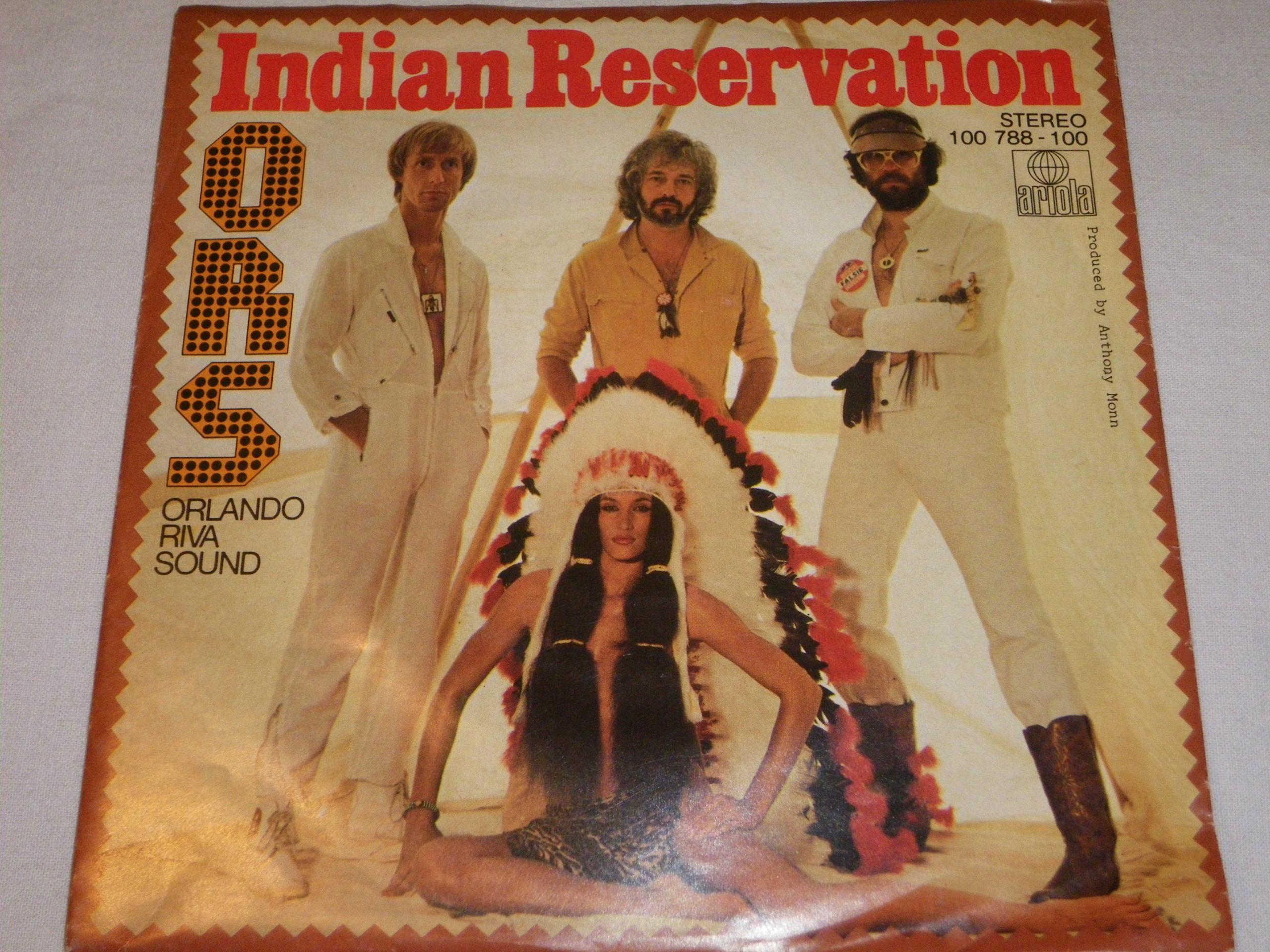 Orlando Riva Sound- Indian Reservation- SP 7''