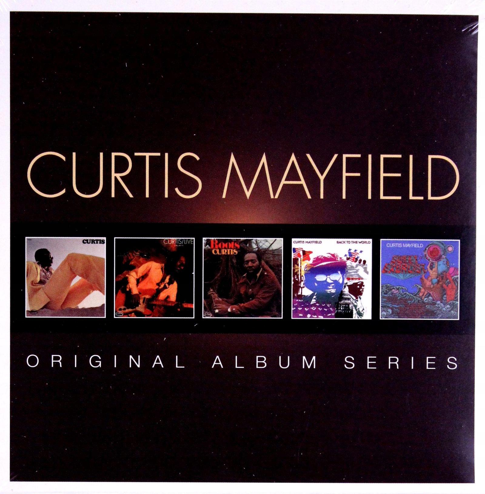 CURTIS MAYFIELD: ORIGINAL ALBUM SERIES [5CD]