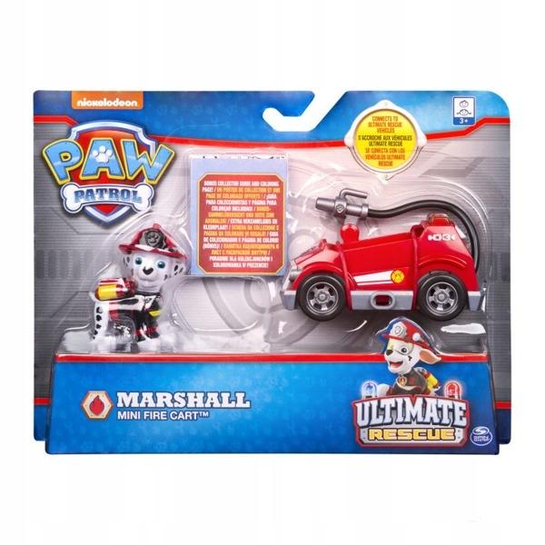 Psi Patrol Pojazd Z Figurka Marshall Kolorowanka