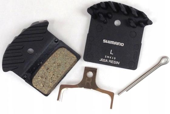 Shimano Okładzina ze sprężyną J02A-R żywiczna z ra