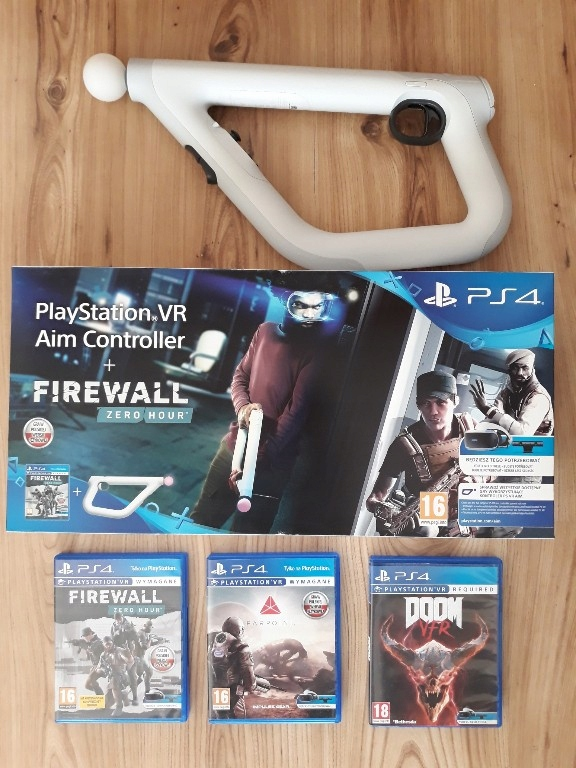 Aim Controller Sony PS4 VR FIREWALL FARPOINT DOOM