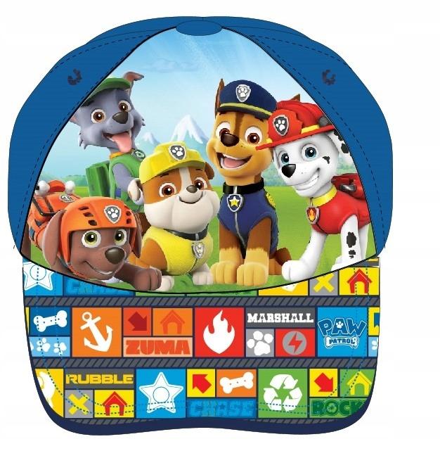 Psi Patrol czapka z daszkiem Chase czapeczka 52