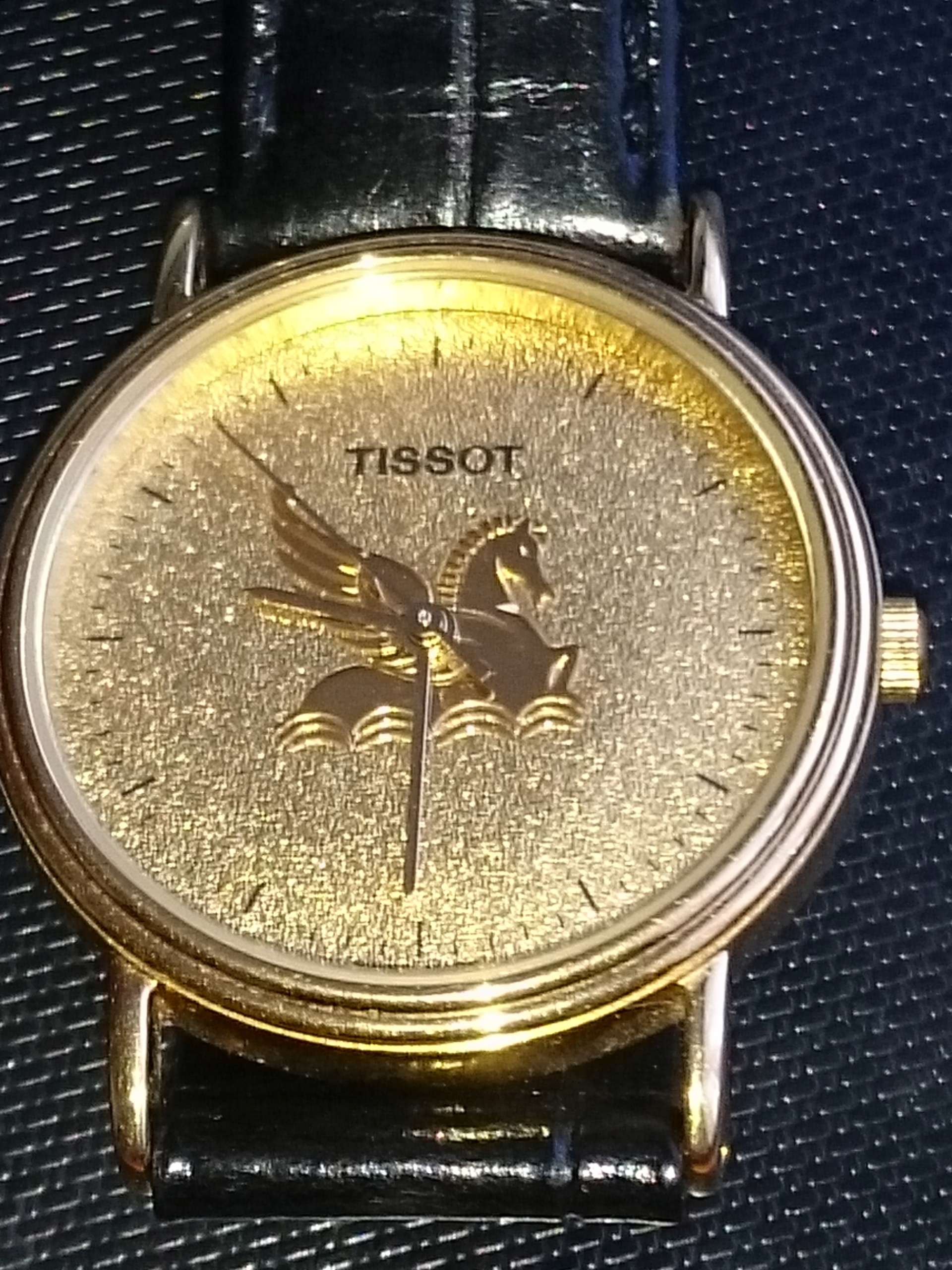 Zegarek TISSOT Pozlacany 18k Unisex od 300 OKAZJA