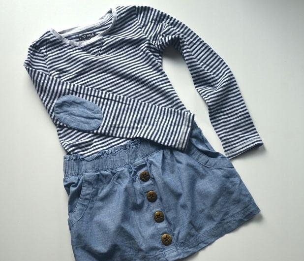 Sukienka bawełniana jeans Next 6 lat 116 cm