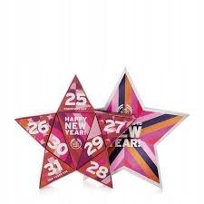 Body Shop Countdown to New Year ZESTAW 8cz.WYPRZE