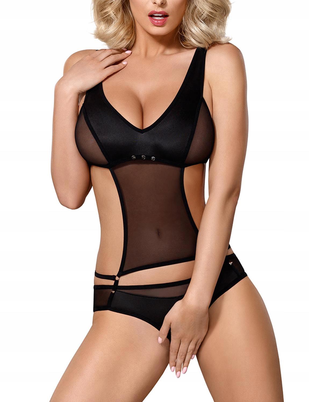 Sexy BODY OBSESSIVE 823-TED Z DZIURKĄ S/M