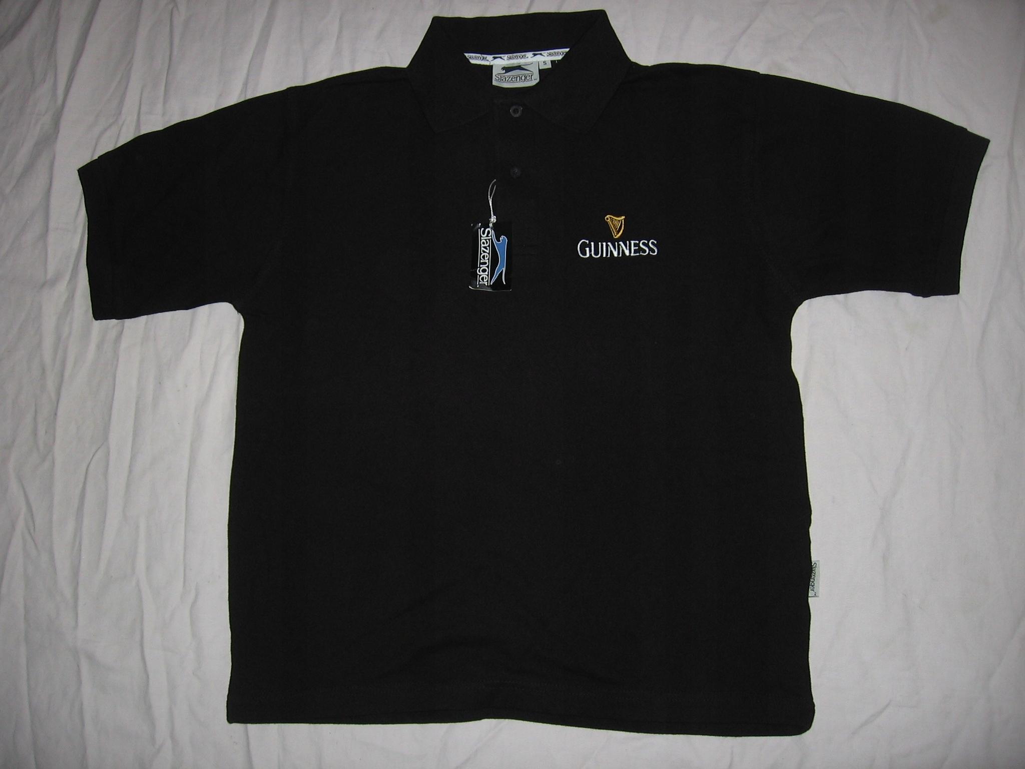koszulka polo bawełna Guinness Slazenger NOWA S