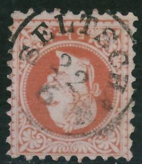 Austria 5 kreuzer - Seltsch 1877